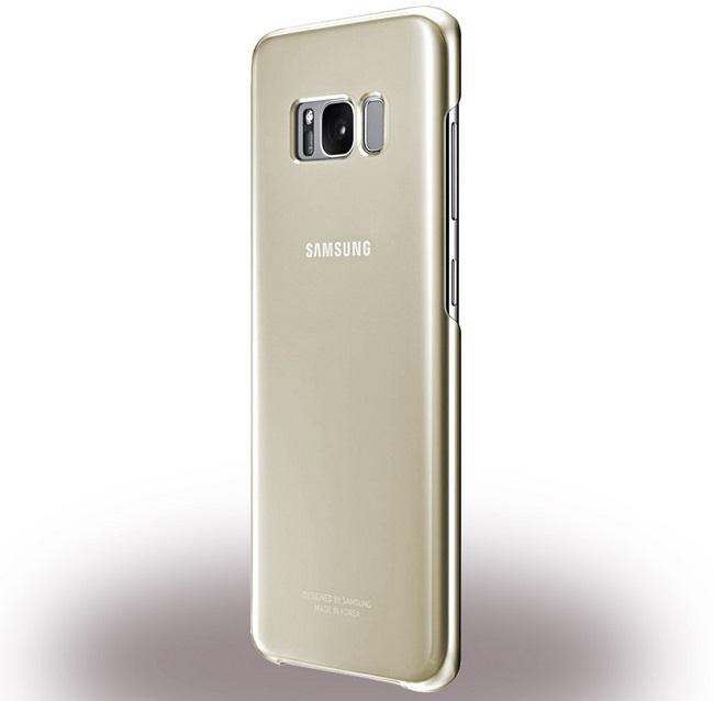 Billede af Samsung EF-QG950CF Clear Cover til Samsung Galaxy S8 - Gold