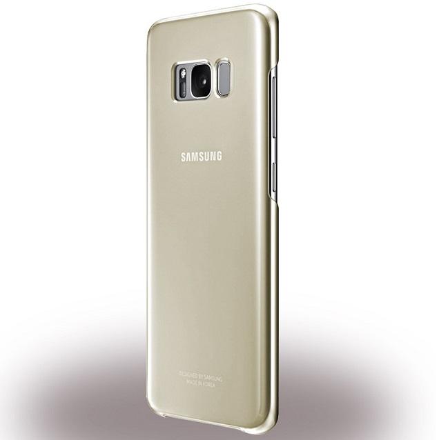 Billede af Samsung EF-QG955CF Clear Cover til Samsung Galaxy S8+ (Plus) Guld