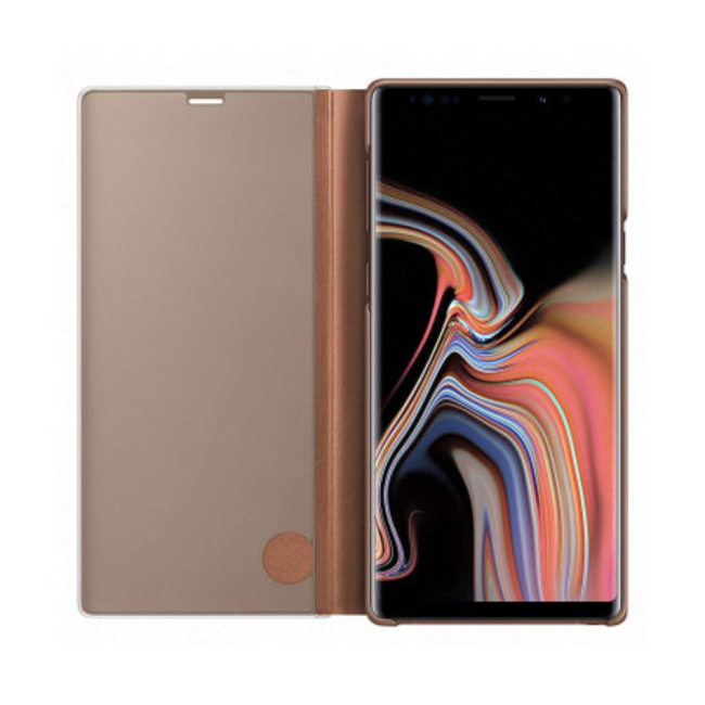 Image of   Samsung Clear View Samsung Note 9 : Samsung Clear View Samsung Note 9 Brown
