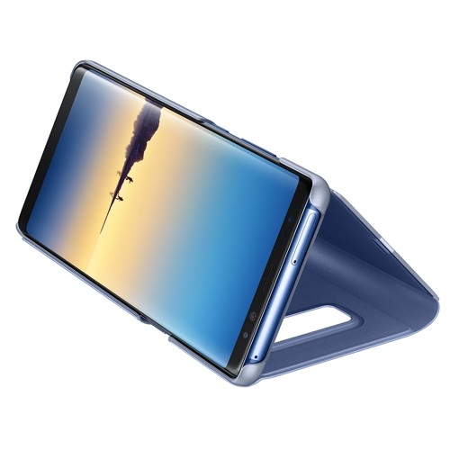 SAMSUNG Clear View Standing Cover blue