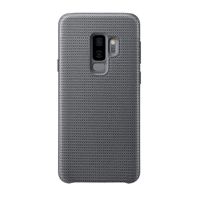 Image of   Samsung - EF-GG965FJ Hyperknit Hard Cover - G965F Galaxy S9 Plus - Gray