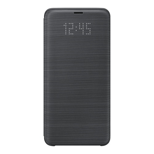 Image of   Samsung - EF-NG965PB - LED View Cover / Book Case - G965F Galaxy S9 Plus - Black
