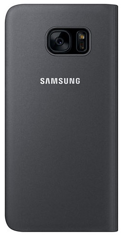 Image of   SAMSUNG Gal S7 Edge S view Cover Bl