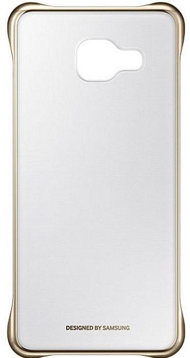 Billede af Samsung Clear Cover A310F Galaxy A3 (2016) EF-QA310CF Guld