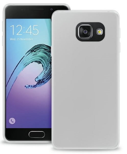 Image of   Samsung Galaxy A3 (2016) Silikone Cover Puro Ultra Slim Transparent