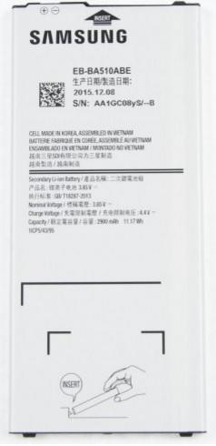 Billede af Samsung Galaxy A5 (2016) batteri EB-BA510ABE Originalt