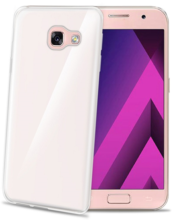 Image of   Samsung Galaxy A5 (2017) Celly Gelskin TPU Cover Gennemsigtig