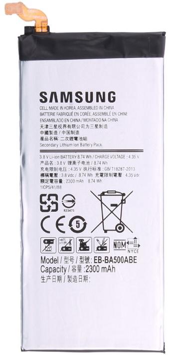 Billede af Samsung Galaxy A5 Batteri EB-BA500ABEGWW Originalt