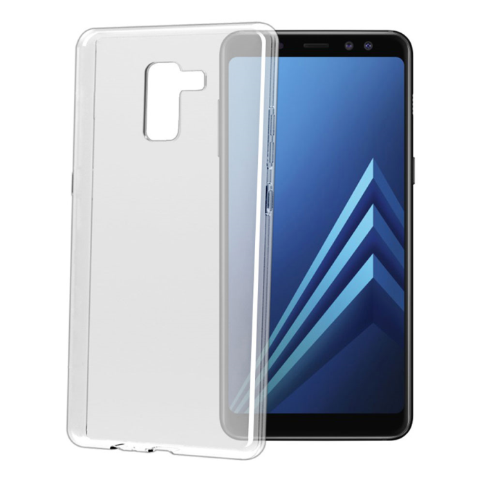 Image of   Samsung Galaxy A8 Celly Gelskin TPU Cover Gennemsigtig