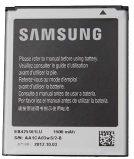 Billede af Samsung Galaxy Ace 2 Batteri EB425161LU Originalt