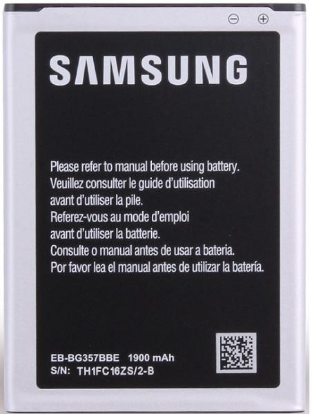 Billede af Samsung Galaxy Ace 4 G357F batteri Originalt EB-BG357BBE