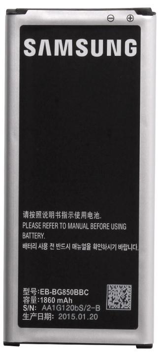 Billede af Samsung Galaxy Alpha Batteri EB-BG850BB Originalt