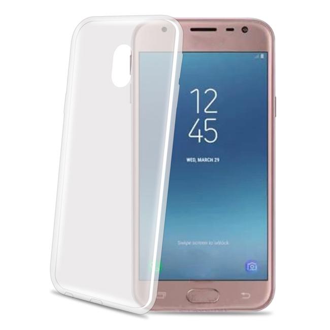 Billede af Samsung Galaxy J3 (2017) Celly Gelskin TPU Cover Gennemsigtig