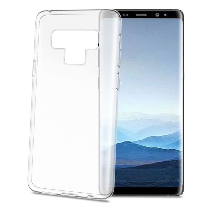 Image of   Samsung Galaxy Note 9 Celly Gelskin TPU Cover Gennemsigtig