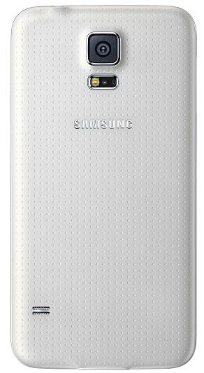 Billede af Samsung Galaxy S5 batteri cover / batteridæksel Original Hvid