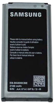 Billede af Samsung Galaxy S5 Mini batteri EB-BG800BB Originalt