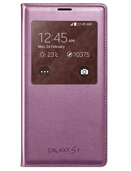 Billede af Samsung Galaxy S5 S-view cover originalt Glam Pink