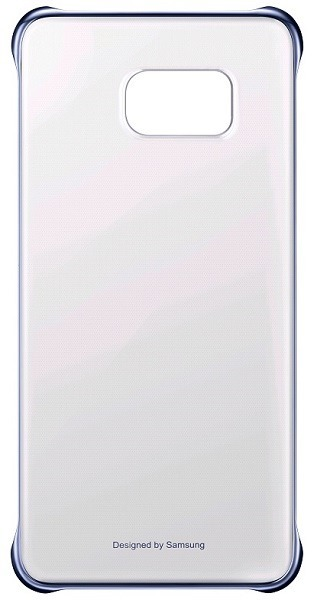 Billede af Samsung Galaxy S6 Edge+ (Plus) Clear Cover Originalt sort / blå