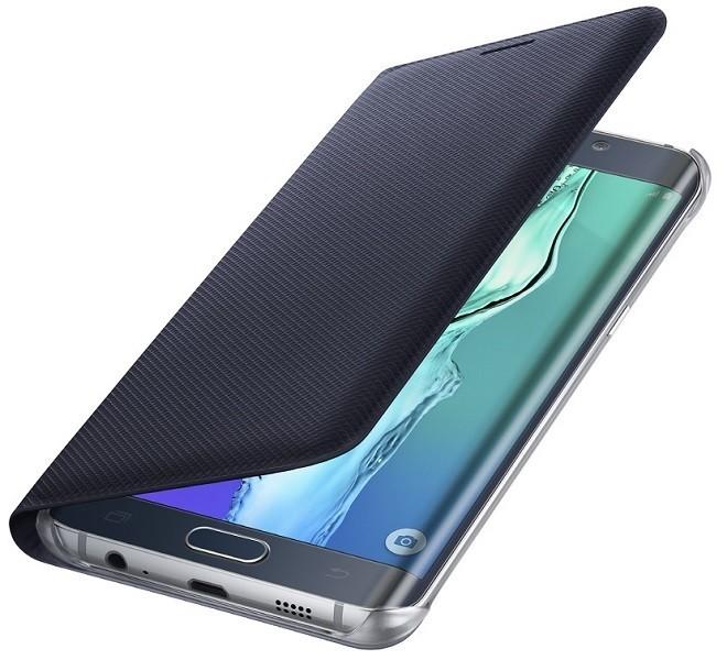 Billede af Samsung Galaxy S6 Edge+ (Plus) Flip Wallet Blå