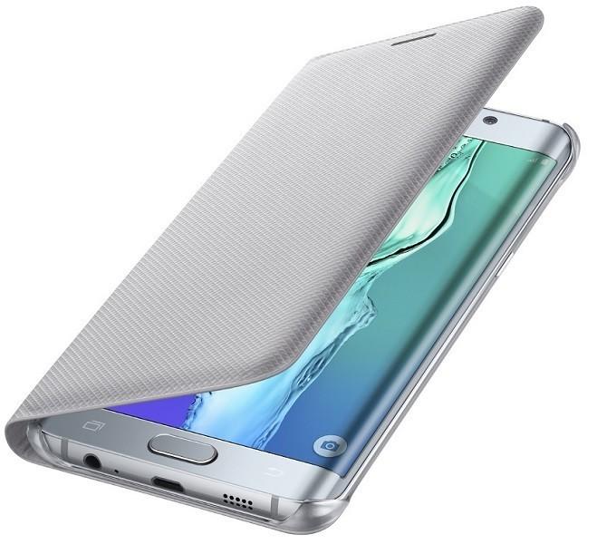 Billede af Samsung Galaxy S6 Edge+ (Plus) Flip Wallet Sølv