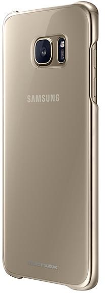 Image of   Samsung Galaxy S7 Edge Clear Cover Originalt EF-QG935CF Guld