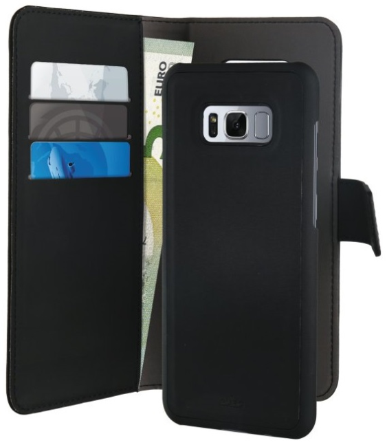 Image of   Samsung Galaxy S8 Magnet pung taske og cover 2-i-1 fra Puro