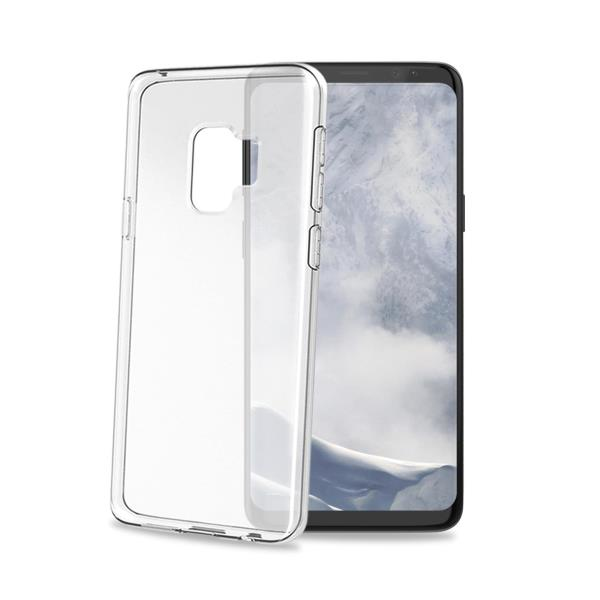 Image of   Samsung Galaxy S9 Celly Gelskin TPU Cover Gennemsigtig
