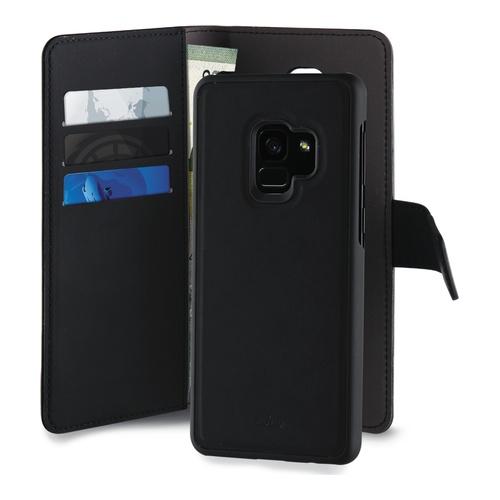 Image of   Samsung Galaxy S9 Magnet pung taske og cover 2-i-1 fra Puro