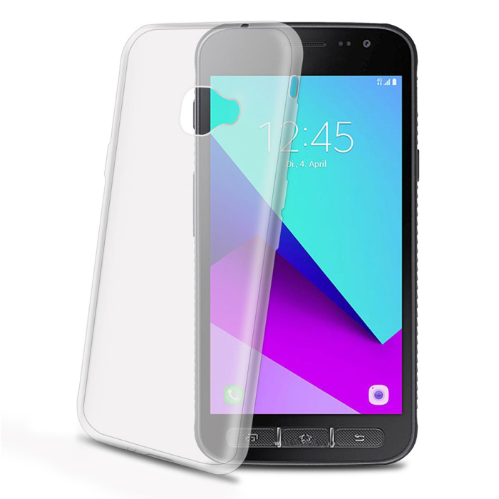 Image of   Samsung Galaxy Xcover 4 Celly Gelskin TPU Cover Gennemsigtig