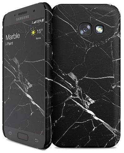 Billede af Samsung Galaxy A3 (2017) cover med marmor mønster i-Paint Marble