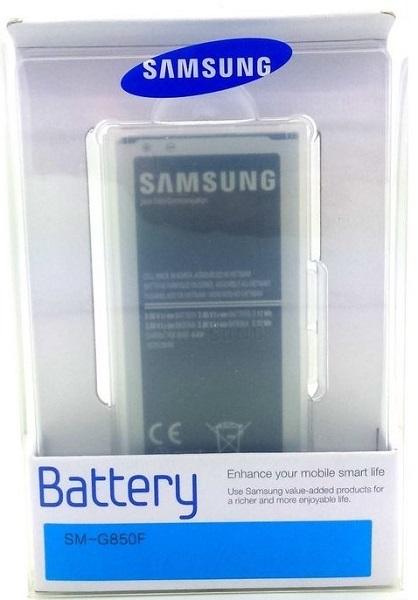 Billede af Batteri til Samsung Galaxy Alpha Originalt EB-BG850BB