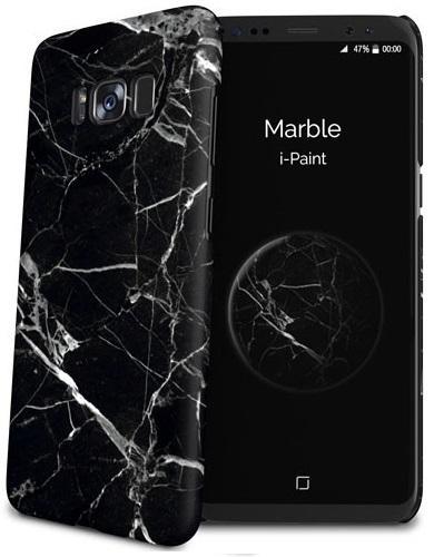 Billede af Samsung Galaxy S8 cover med marmor mønster i-Paint Marble