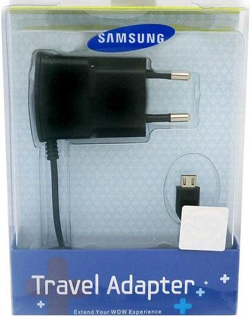 Image of   Samsung Rejse Oplader MicroUSB 5V