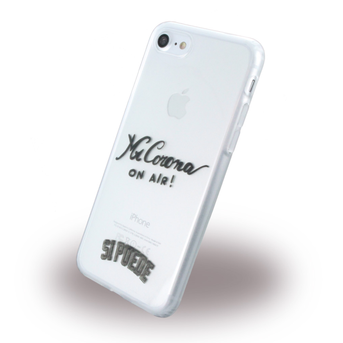 Image of   Si Puede - C7MRCORONA - Silicone Cover / Phone Skin - Apple iPhone 7 8 - Mr. Corona