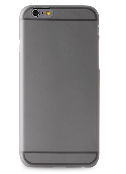 Silikone cover til Apple iPhone 6/6S Puro Ultra Slim 0.3 Sort