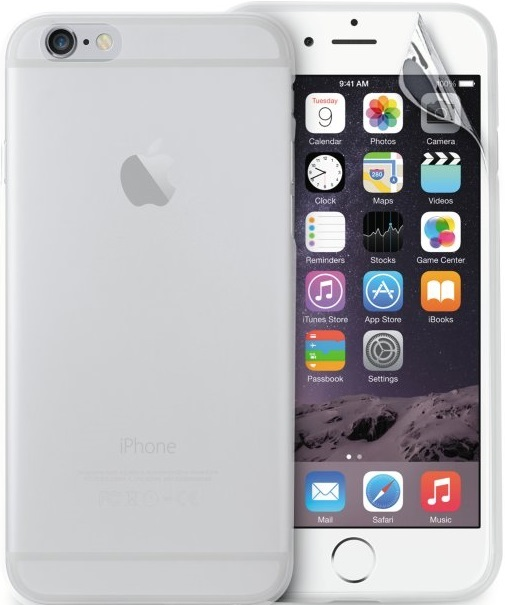 Silikone cover til Apple iPhone 7/8 Puro Ultra Slim 0.3 Gennemsigtig