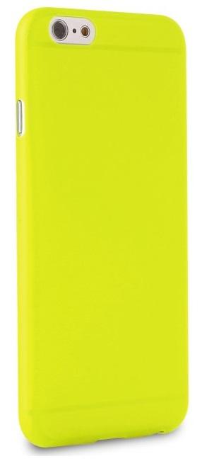 Silikone cover til Apple iPhone 7/8 Puro Ultra Slim 0.3 Grøn Gul