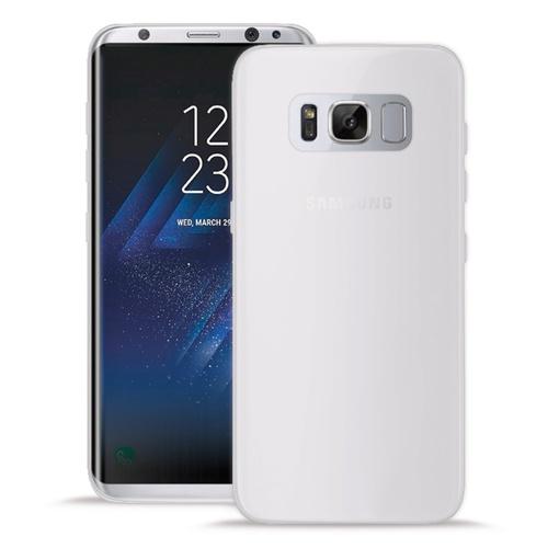 Silikone cover til Samsung Galaxy S8+ Puro Ultra Slim 0.3 Gennemsigtig
