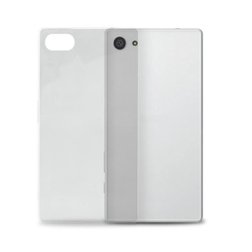 Silikone cover til Sony Xperia Z5 Compact Puro Ultra Slim 0.3 Gennemsigtig