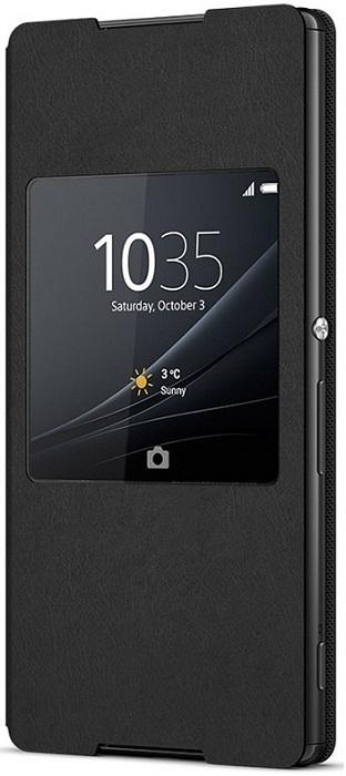 Billede af Sony Xperia Z3+ Sony Style Cover SCR30 Sort Bulk