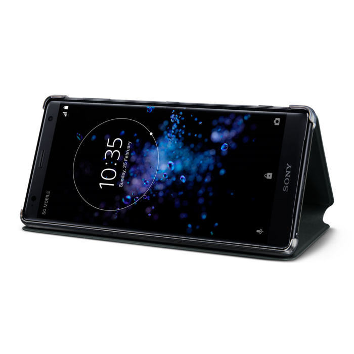 Image of   Sony Style Cover Stand til Sony Xperia XA2 Ultra - Sort