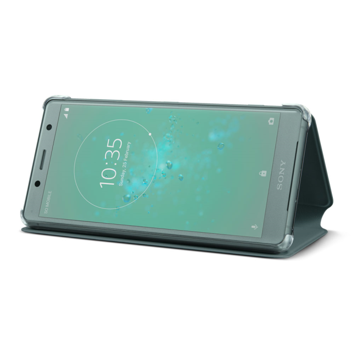 Image of   Sony Style Cover Stand til Sony Xperia XZ2 Compact - Grøn
