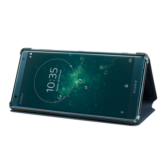 Image of   Sony Style Cover Stand til Sony Xperia XZ2 - Grøn