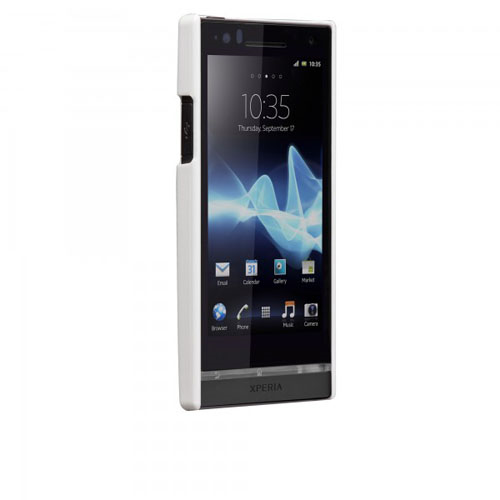 Image of   Sony Xperia S cover Case-mate Barely There Hvid