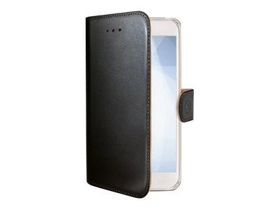 Image of   Sony Xperia XZ1 flipcover Celly Wally Case - Sort