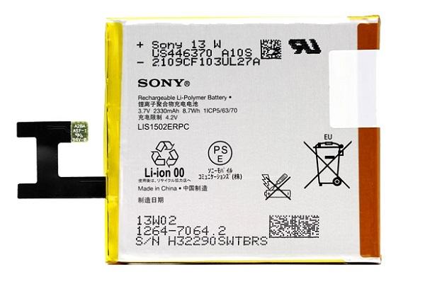 Billede af Sony Xperia Z batteri LIS1502ERPC Originalt