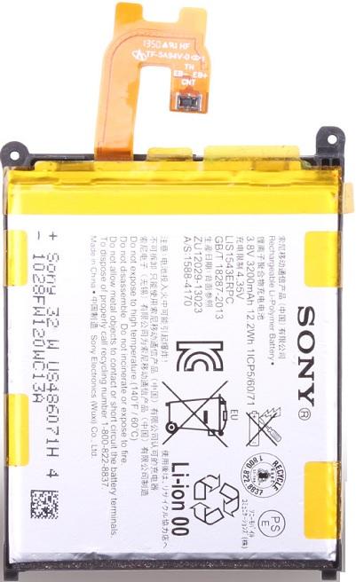Billede af Sony Xperia Z2 Batteri LIS1543ERPC Originalt