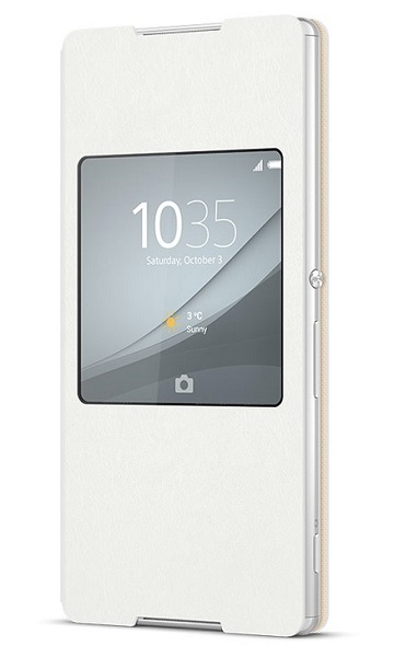 Billede af Cover til Sony Xperia Z3+ Sony Style Cover SCR30 Hvid