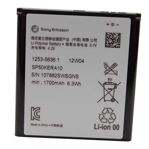Billede af Sony Xperia S batteri originalt Sony SP50KERA10