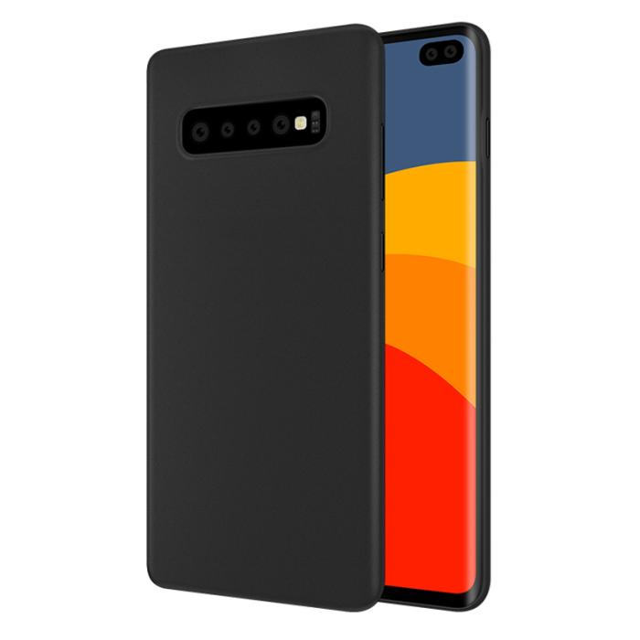 Sort Silikone Cover Til Samsung Galaxy S10 Ultra Thin Silikone